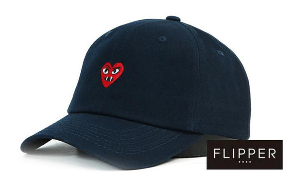 FLIPPER 'Devil Heart' Navy Blue Cap