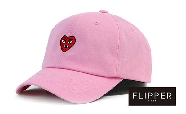 FLIPPER 'Devil Heart' Pink Cap