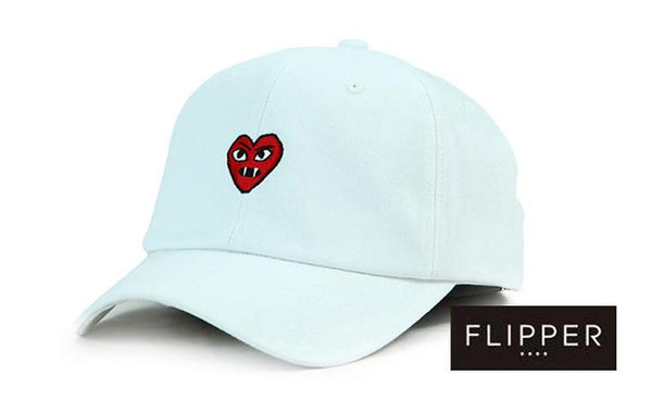 FLIPPER 'Devil Heart' White Cap