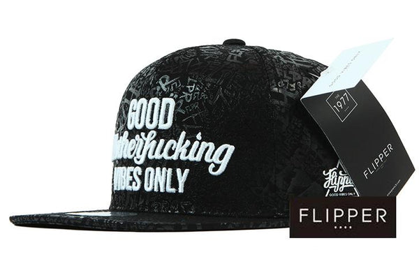 FLIPPER Good MF Vibes Black Snapback