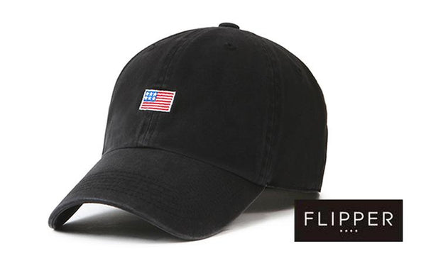 FLIPPER 'US Flag' Black Cap