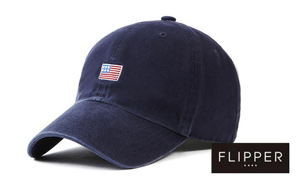 FLIPPER 'US Flag' Navy Blue Cap