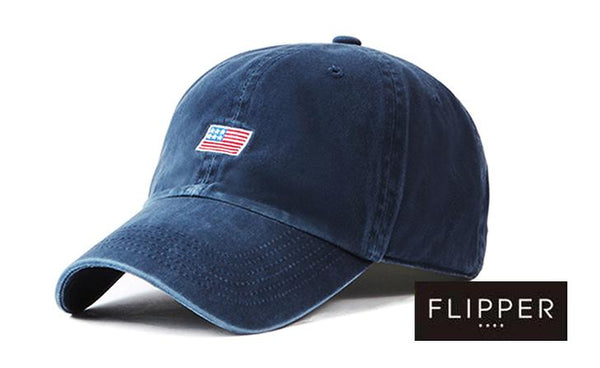 FLIPPER 'US Flag' Blue Cap