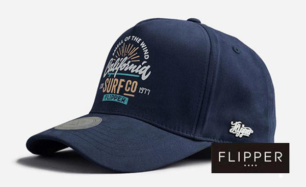 FLIPPER 'SURFco' Navy Blue Cap