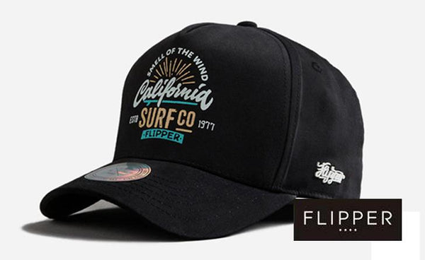 FLIPPER 'SURFco' Black Cap