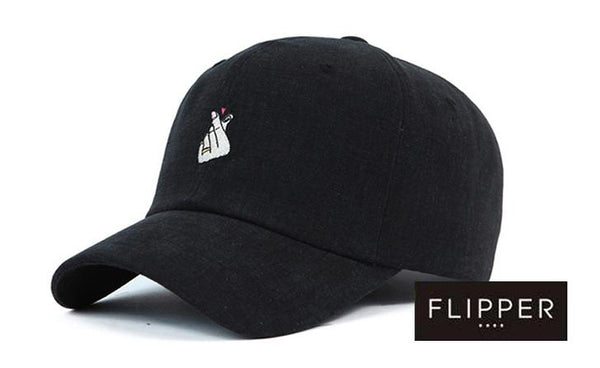 FLIPPER 'Heart' Black Cap