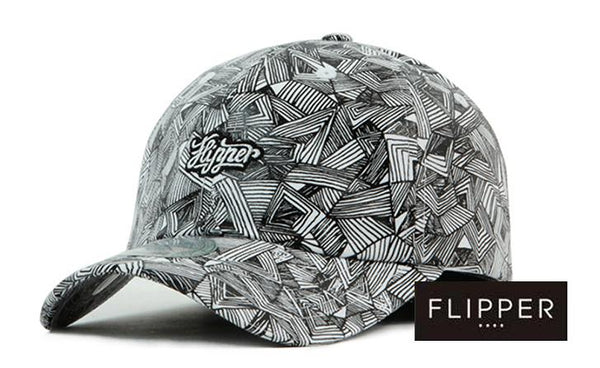 FLIPPER Triangle Pattern Cap