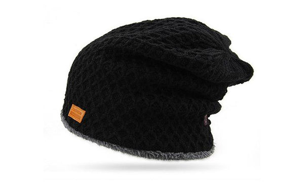 JAMONT Velvet Inside Beanie Winter Hat