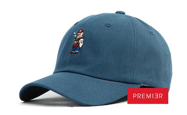 PREMIER 'Bad Bear' Blue Cap