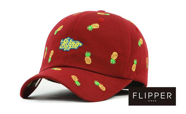 FLIPPER 'Pineapples' Red Cap