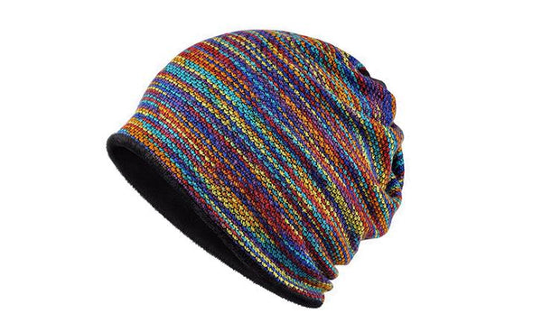 AETRENDS Velvet Inside Unisex Beanie Winter Hat/ Scarf