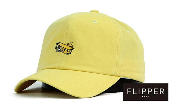FLIPPER 'Airplane' Yellow Cap