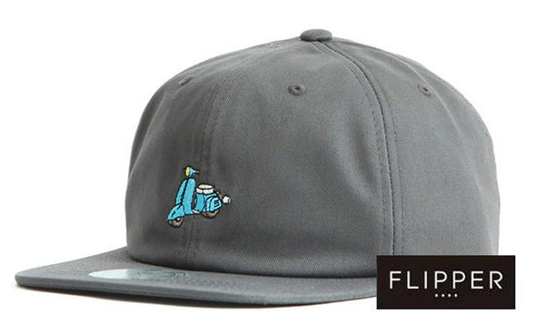FLIPPER 'Retro motorbike' Grey Cap