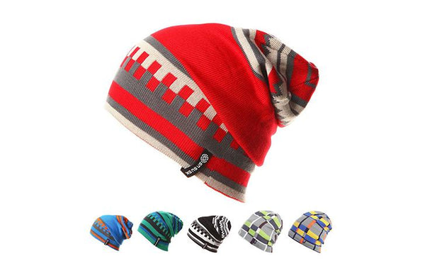 Gemay G.M Colored Patters Beanie Winter Hat