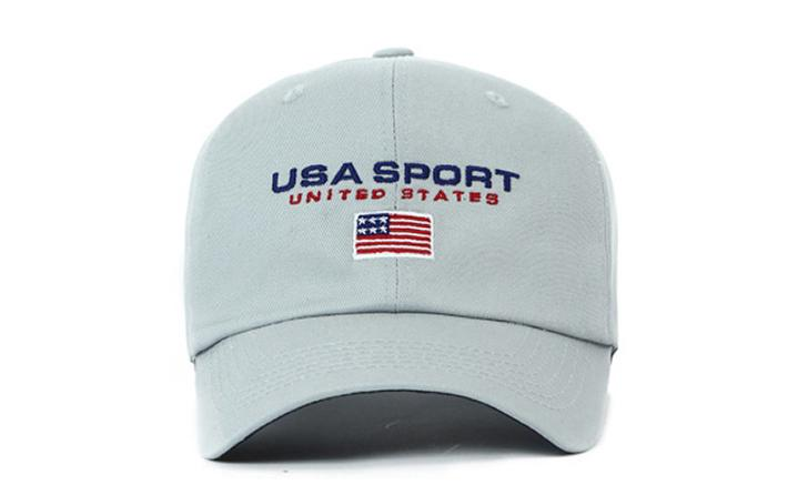 White 'USA Sport' Cap