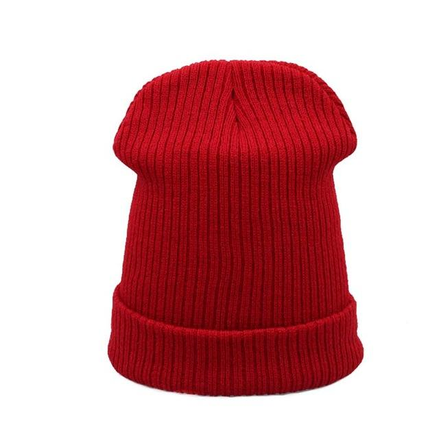 MAKEFGE Clean Multicolor Skully Winter Hat