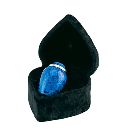 Cobalt Blue Alloy Keepsake Urn 3""