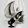 Bright Silver Tear Drop Urn Series