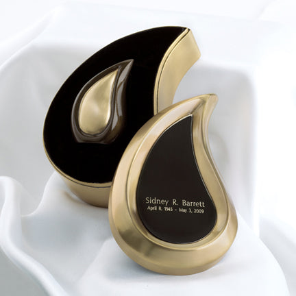 Bronze Tone Tear Drop Ultra Keepsake Urn