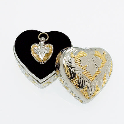Heart Pendant within a Keepsake Case