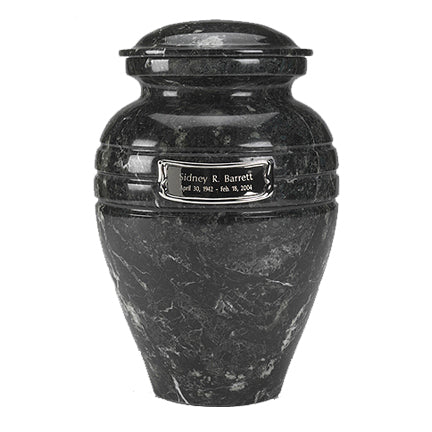 Urn Shown with Optional Medallion