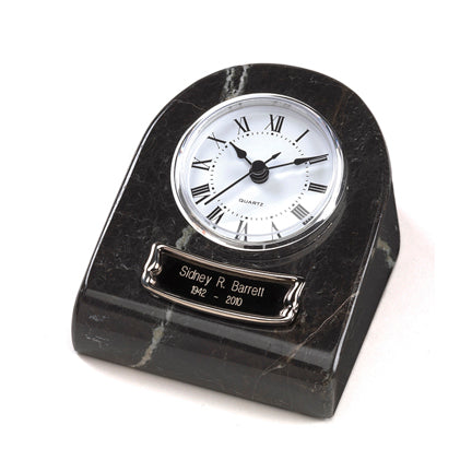Black Grain Clock Tower Keepsake Urn