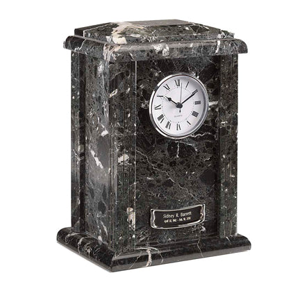 Black Grain Clock Tower Urn
