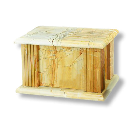 TeakWood Grain Rectangle Urn