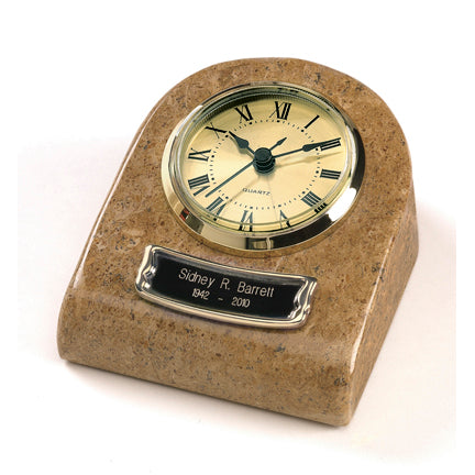 Earth Grain Clock Tower Keepsake Urn