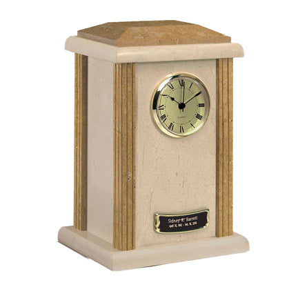 Earth Grain Clock Tower Urn