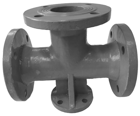 Flange Tees with Base
