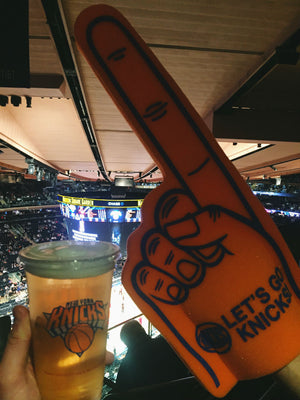 BASKETBALL AT MADISON SQUARE GARDEN