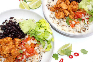 CAJUN CHICKEN BURRITO BOWL