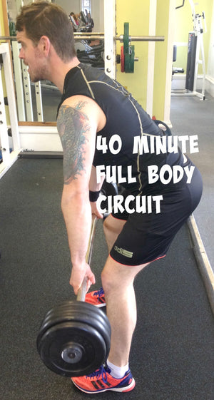 A 40 MINUTE FULL BODY CIRCUIT