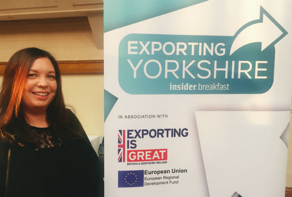 SPEAKING ON THE EXPORTING YORKSHIRE PANEL