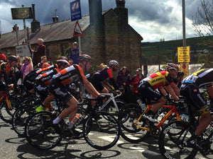 WATCHING THE TOUR DE YORKSHIRE 2015