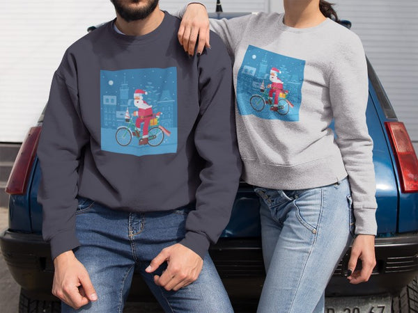 Cycling Christmas Jumpers