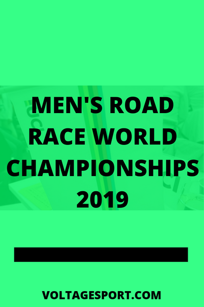 MEN'S ROAD RACE WORLD CHAMPIONSHIPS 2019