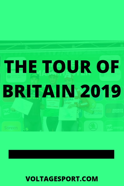 THE TOUR OF BRITAIN 2019