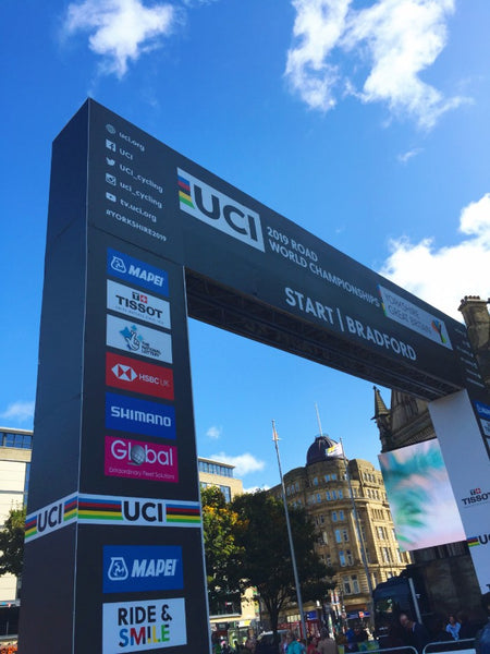 THE WOMEN'S WORLD CHAMPIONSHIP ROAD RACE AT YORKSHIRE 2019!