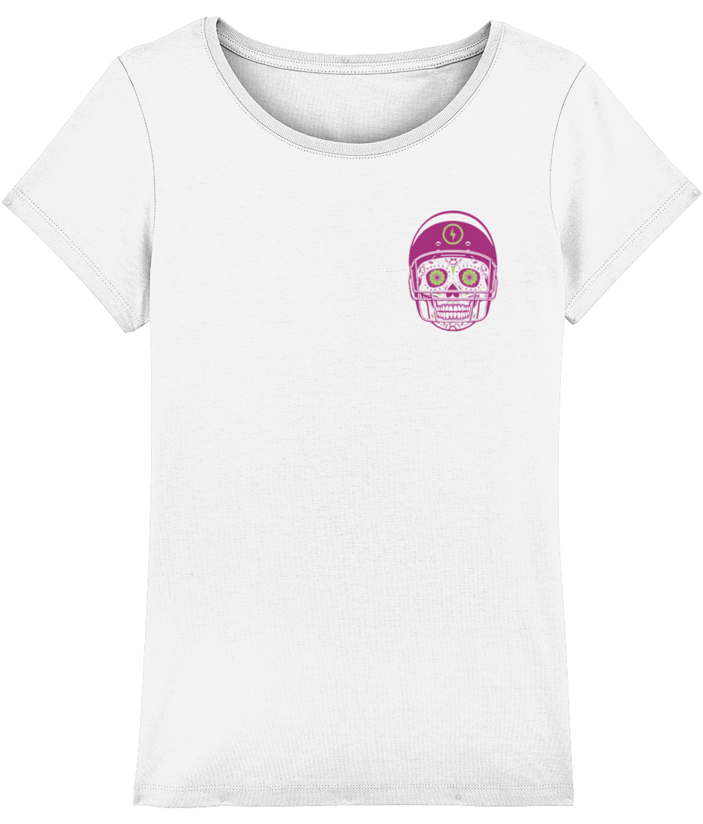 American Football Sugar Skull Women's T-Shirt