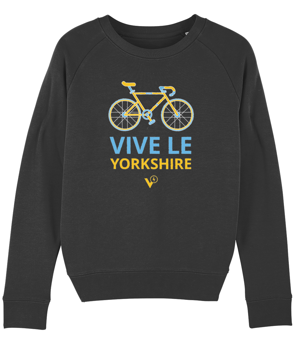VIVE LE YORKSHIRE WOMEN'S CYCLING SWEATSHIRT