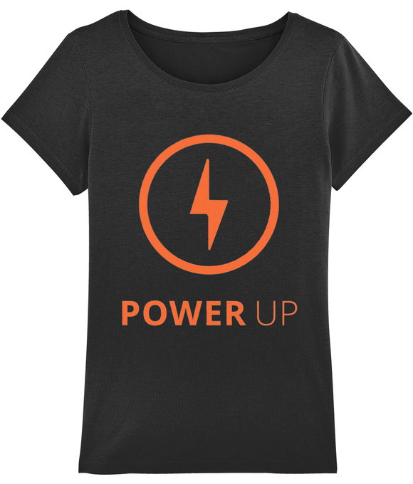 POWER UP WOMEN' T-SHIRT