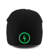 Bolt Pull-on Beanie (Green)