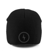 Bolt Pull-On Beanie (Grey)