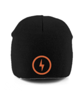 Bolt Pull-On Beanie (Orange)
