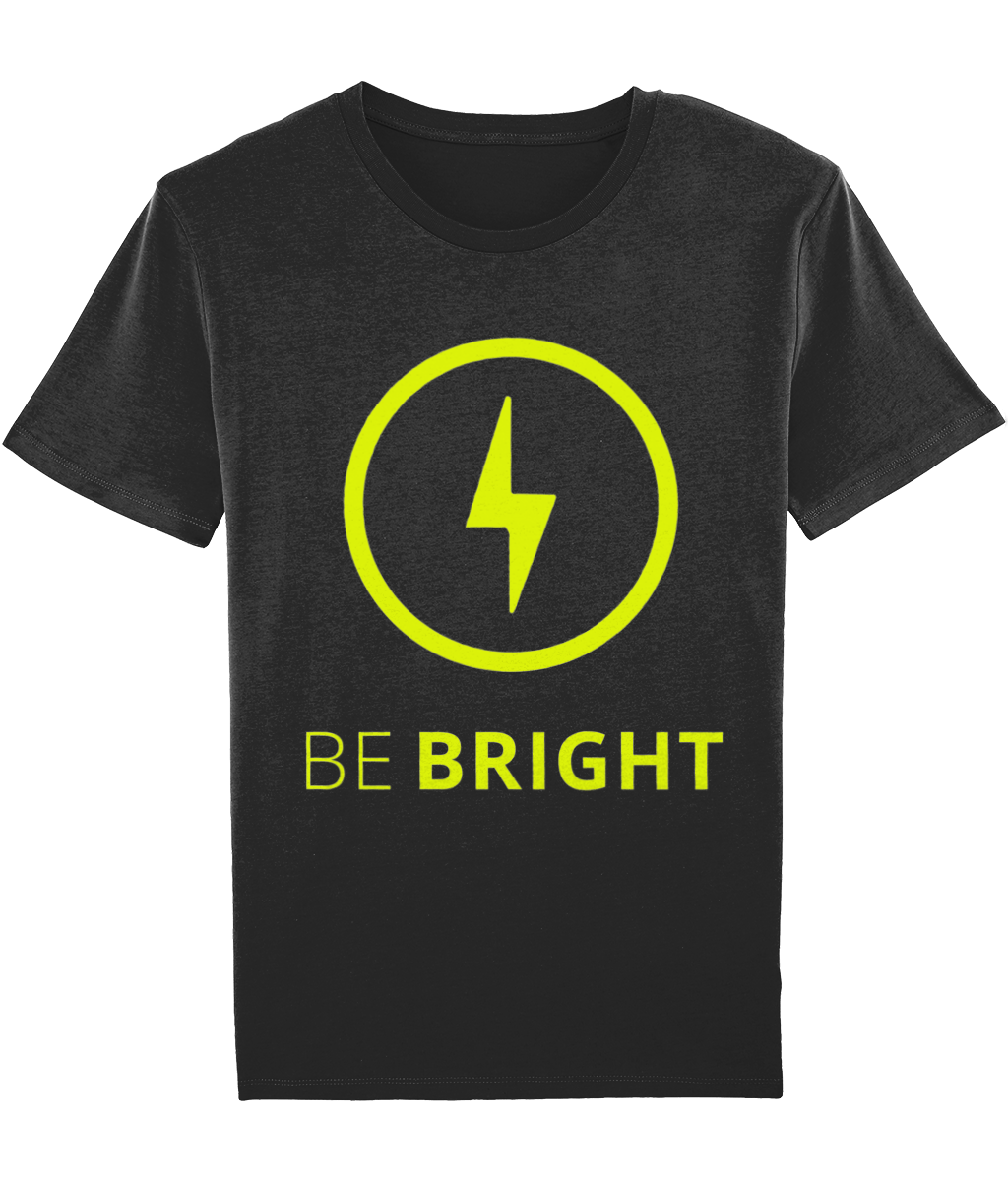 Men's Motivational t-shirt Be Bright