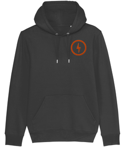 ORANGE BOLT UNISEX HOOIDE