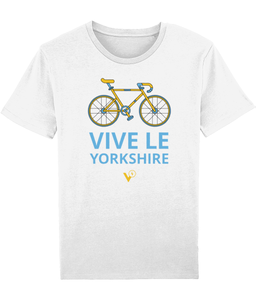 Vive Le Yorkshire Men's White T-Shirt