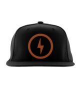 Bolt Rapper Cap (Orange)